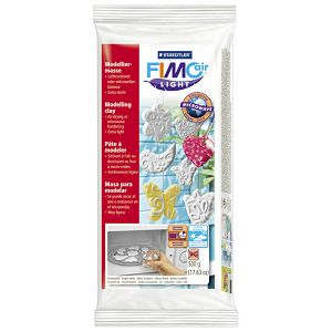 Glinamol 0,5kg Fimo Air Light Staedtler 8132-0 bijela