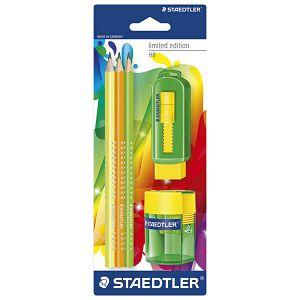 Olovka grafitna HB pk3+gumica 525+šiljilo 511 Limited edition Staedtler 133SBK3P3!!