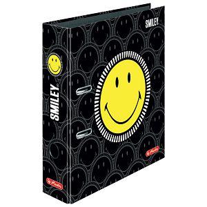 Registrator A4 široki samostojeći maX.file Smiley Black Faces Herlitz 50016013!!