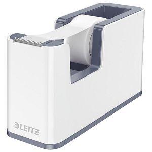 Stalak s trakom ljepljivom Wow Leitz 53641001 bijeli/sivi