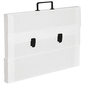Torba-kofer pp-tvrdi  560x420x55mm Balmar (Dispaco) 8083 bijela/crna ručka