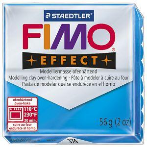 Masa za modeliranje   57g Fimo Effect Staedtler 8020-374 prozirno plava