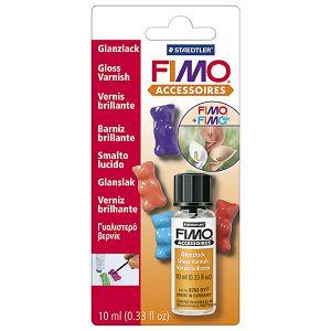 Lak za mase za modeliranje za sjajni 10ml Fimo Staedtler 8703 01 BK blister