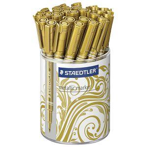 Marker nepermanentni 1-2mm u čaši pk30 Metallic Staedtler 832311KP30 zlatni!!