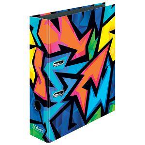Registrator A4 široki samostojeći maX.file Neon Art Herlitz 50027385