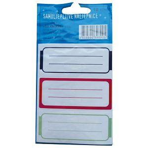 Etikete školske 3/1x4 linije 2 Glogos sortirano blister