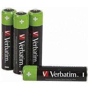 Baterija za punjenje 1,2V AAA pk4 Verbatim 49514 LR03 blister