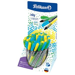 Flomaster fineliner 0,5mm u čaši pk50 Inky Pelikan 604574 neon sortirano