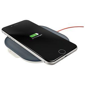 Punjač za mobilne uređaje bežični Cosy QI Leitz 64790089 tamno sivi