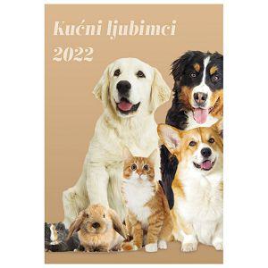 """Kalendar """"Kućni ljubimci 2022"""" 13 listova, spirala"""
