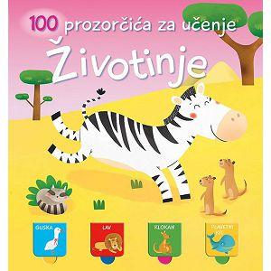 100 prozorčića za učenje: Životinje Lusio 301327