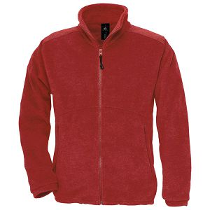 Jakna zip-flis B&C Icewalker 300g crvena XL!!