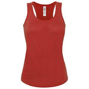 Majica bez rukava ženska B&C Patti Classic 120g crvena S!!