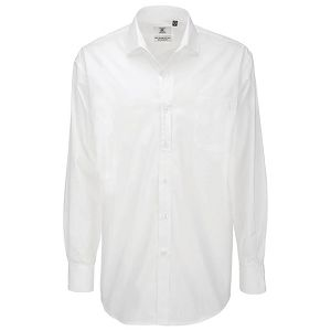 Košulja muška dugi rukavi B&C Heritage 120g bijela XL