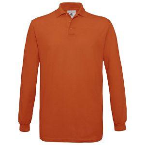 Majica dugi rukavi B&C Safran Polo LSL 180g bund M!!