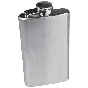 Pljoska metalna 104ml srebrna
