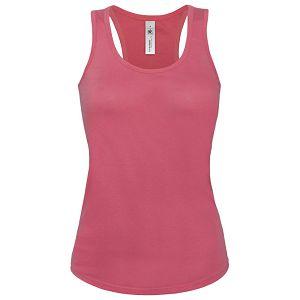 Majica bez rukava ženska B&C Patti Classic 120g roza L!!