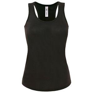 Majica bez rukava ženska B&C Patti Classic 120g crna M!!