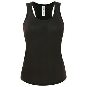 Majica bez rukava ženska B&C Patti Classic 120g crna L
