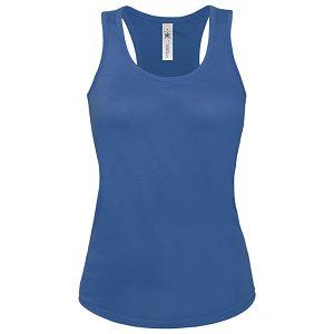 Majica bez rukava ženska B&C Patti Classic 120g zagrebačko plava XS!!