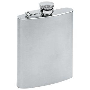Pljoska metalna 200ml srebrna