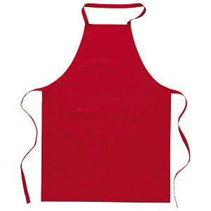 Pregača za kuhanje pamučna 65x90cm crvena