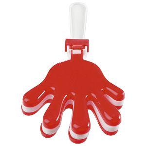Udaraljke oblik ruke crvene