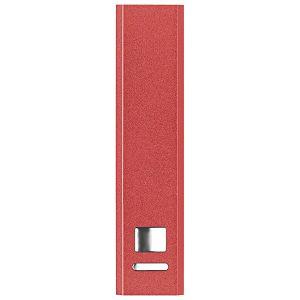 Punjač za mobilne uređaje aluminijski prijenosni crveni