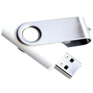 Memorija USB  8GB Twister bijela