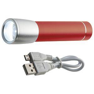Punjač za mobilne uređaje aluminijski sa svjetlom crveni!!