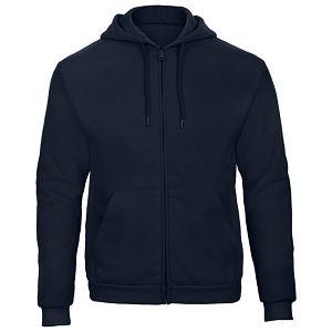 Majica dugi rukavi zip B&C ID.205 270g tamno plava L