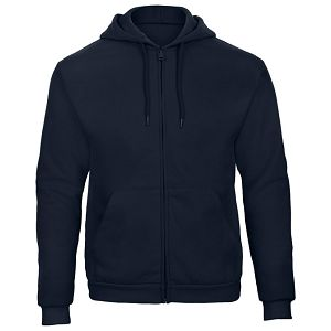 Majica dugi rukavi zip B&C ID.205 270g tamno plava 2XL