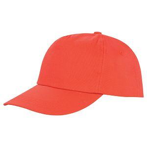Kapa šilt 5 panela Houston crvena