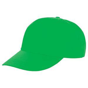 Kapa šilt 5 panela Houston svijetlo zelena