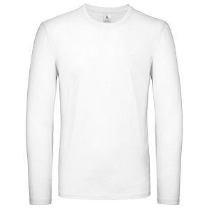 Majica dugi rukavi B&C #E150 LSL bijela 2XL