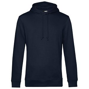 Majica dugi rukavi B&C Hooded organic 280g urban tamno plava L
