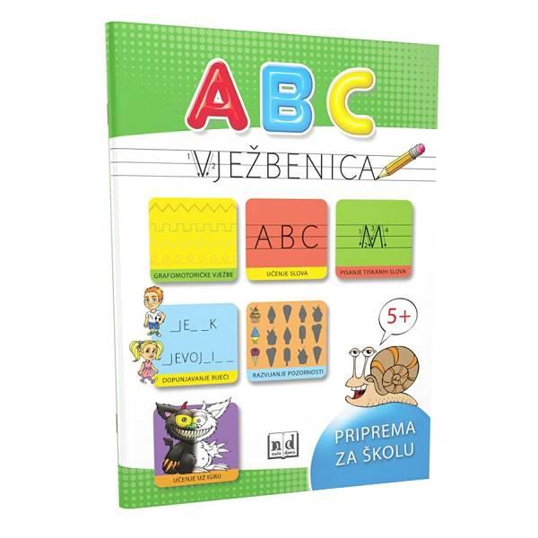 ABC vježbenica priprema za školu 5+ 7281