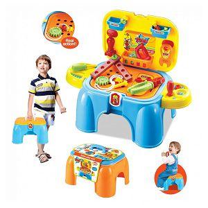 ALAT SET plastični, 27/1 u obliku stolice 19x32.5x26.5cm Eurom 631133