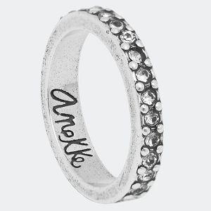 Anekke Prsten srebrni s kristalima vel.14 33800-616S14