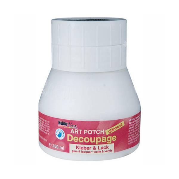 Art Potch lak ljepilo za decoupage - sjajno, 250 ml