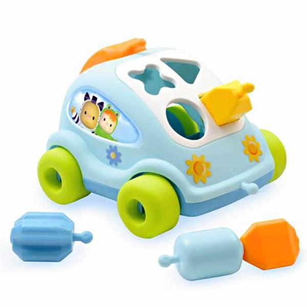 Auto s likovima didaktički Smoby
