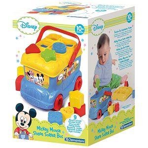 AUTOBUS CLEMENTONI didaktički, umetaljka Baby Mickey 14395
