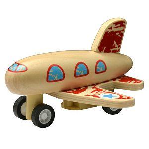 Avion drveni na navijanje 926935 3boje