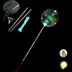 BALON SVIJETLEĆI LED na štapiću BG International 016190 2boje