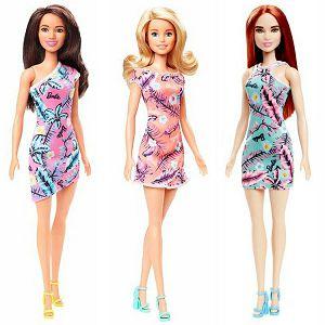 BARBIE LUTKA u ljetnoj haljini Mattel 801231 3motiva