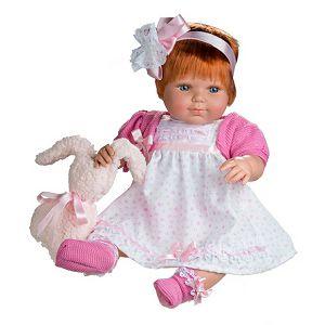 Beba Berjuan Baby Sweet 50cm 1210 roza/bijela