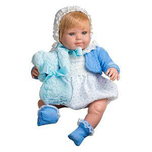 Beba Berjuan Baby Sweet 50cm 1211 plava/bijela