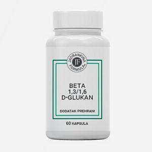 BETA 1,3/1,6 D-Glukan dodatak prehrani 60 kapsula 650398