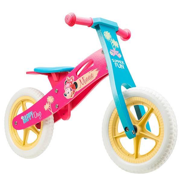 Bicikl školski drveni guralica Minnie