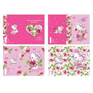Bilježnica A4/52L čista Hello Kitty Loves U Target sortirano
